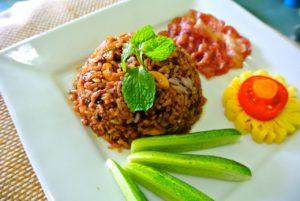 Reis mit Thai-Gemüse - zunehmen Rezepte - Philip Baum