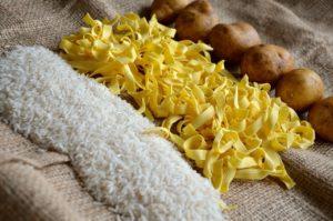 kalorienreiche Lebensmittel - Reis und Nudeln - Philip Baum