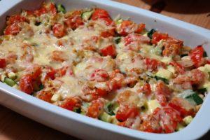 zunehmen Rezepte - gemüse lasagne - Philip Baum