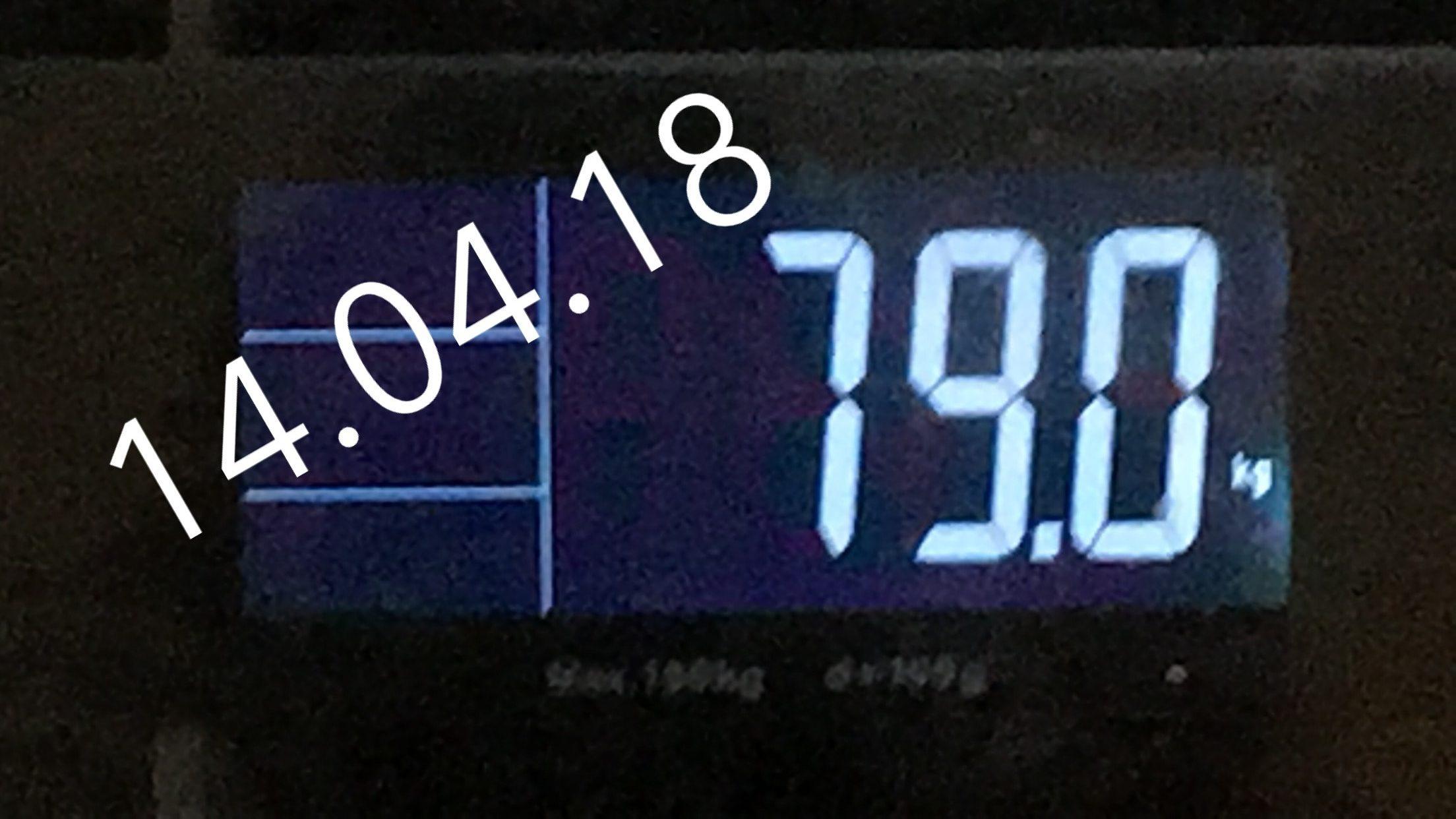 14.04.18 - 79 Kg- zunehmen Philip Baum
