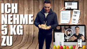 Nahrungsergänzungsmittel zum zunehmen - Zunehmtagebuch Kurstest